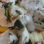 Girelline Pollo&Zucchine profumate alla menta