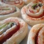 Girelle Sfogliate con Zucchine
