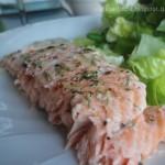 Tenero e Succoso Filetto di Salmone al forno