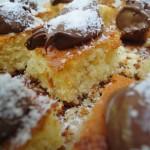 Dolce Cocco & Ciocco bianco con topping di Nutella