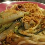 Spaghetti con le Puntarelle, Briciole, Acciughe e …