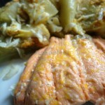 Filetto di Salmone all'Arancia (al microonde)