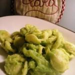 Orecchiette con broccoli cremosi
