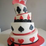 The King & Queen of Hearts Cake – La mia prima wedding cake!