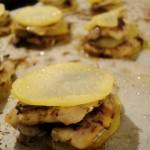 Millefoglie di Alici e Patate al forno