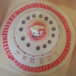 Torta con topper Hello Kitty