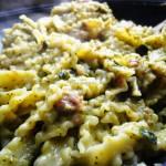 Reginette con Salsiccia, Broccoli e Zucchine