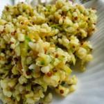 Insalata di Bulgar e Quinoa con julienne di Zucchine e Carote