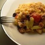 Cavatelli al Pesce Spada e Pomodori Confit con Mollica alla Siciliana