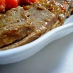 Arrosto di Magatello con verdure (in pentola a pressione)