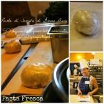 Orecchiette fresche con Cime di Rapa, Pomodorini, Salsiccia e Panure croccante