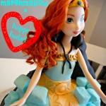 Princess Merida Brave Cake
