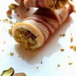 Cannoncini di Bacon con mousse di Zucchine