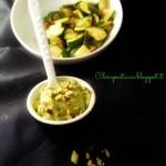 Pesto di Zucchine e Pistacchi