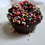 Chocolate Muffin con fudge al cioccolato