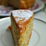 Hot Milk Sponge Cake con farina integrale di farro e latte di capra