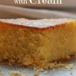 Hot Milk Sponge Cake … senza latte ma con la panna!