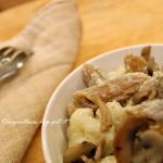 Pasta di Farro con Cavolfiori e Funghi