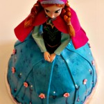 Anna Princess Doll Cake