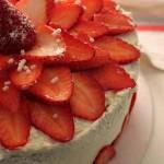 Sponge Cake con crema al Mascarpone e Fragole fresche
