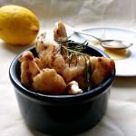 Straccetti di Pollo al Miele, Limone e Zenzero
