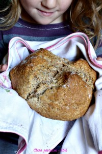 Soda Bread con farina integrale di farro e olio extra vergine di oliva