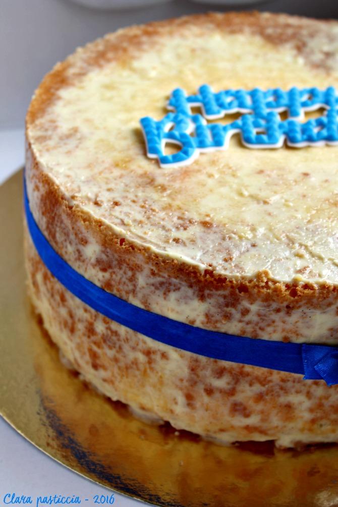 Fluffosa al latte e crema pasticcera alla vaniglia