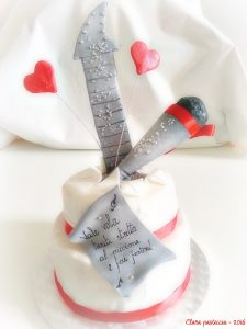 Rock and Love Cake