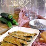Zucchine gratinate al forno (light e velocissime!)