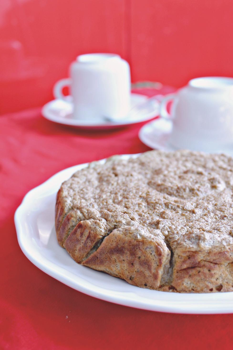 torta al caffè con ricotta